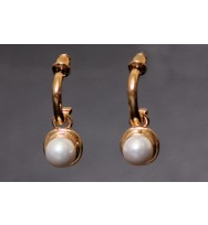 Costume Pearl Earrings