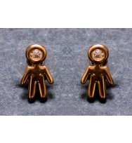 Cute Girl Stud Earrings