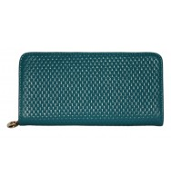 Dull BlueLadies fashion wallets