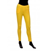 Bright Yellow Jeggings