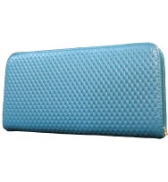 Dull Blue Ladies fashion wallets