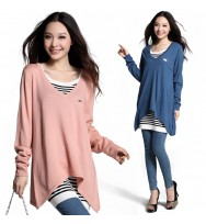 V Shape Tunic Sweater